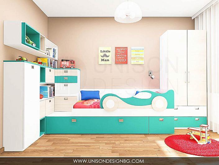 Детска стая за две момчета