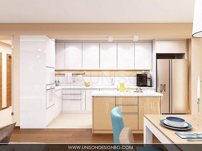 Визуализация-vizualizaciq-кухня-kuhnq-апартамент-unison-design-ralica-zapryanova