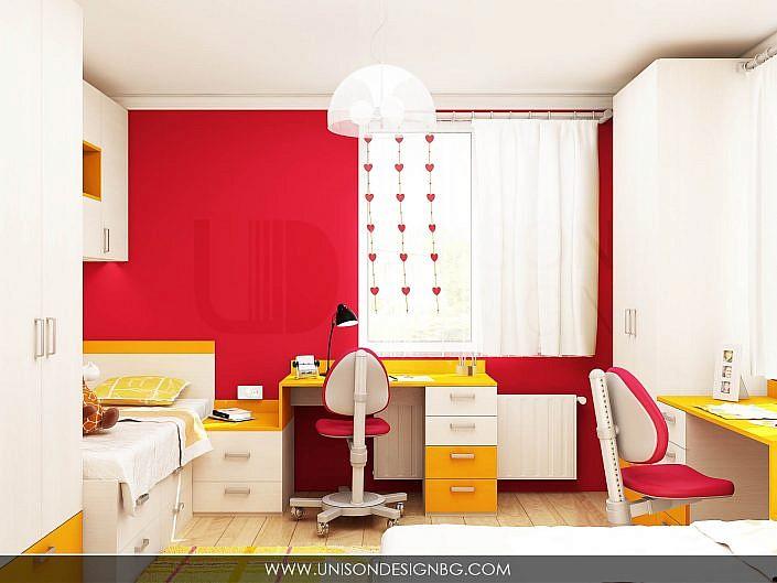 Детска-стая-за-момичета-обзавеждане-детско-легло-бюро-detsko-obzavejdane-интериорен-дизайн-визуализация-detskko-obzavejdane-mebeli-po-porachka-interioren-dizajner