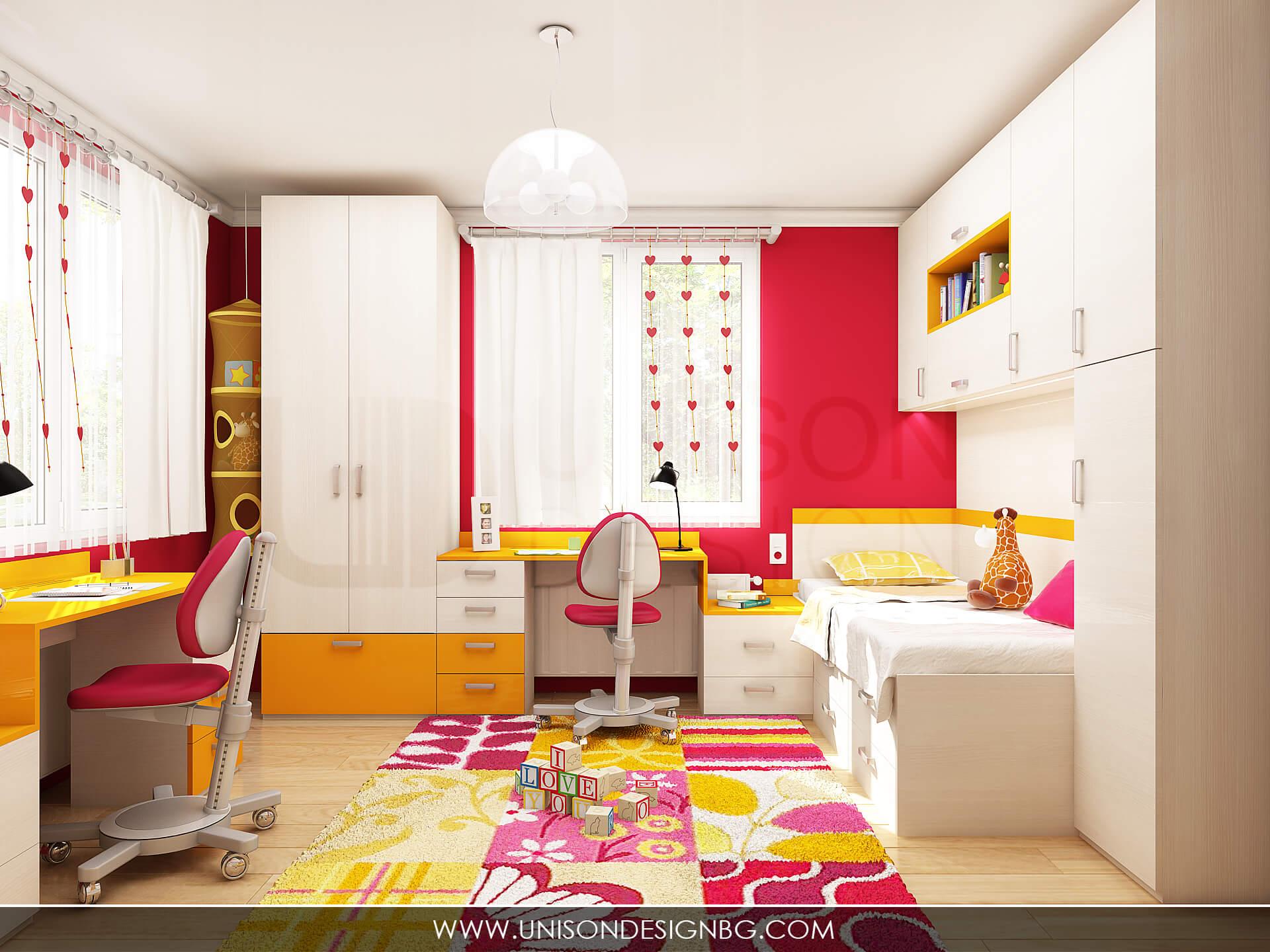 Детска-стая-момичета-детско-обзавеждане-детски-мебели-по-поръчка-detsko-obzavejdane-интериорен-дизайн-визуализация-detskko-obzavejdane-mebeli-interioren-dizajner