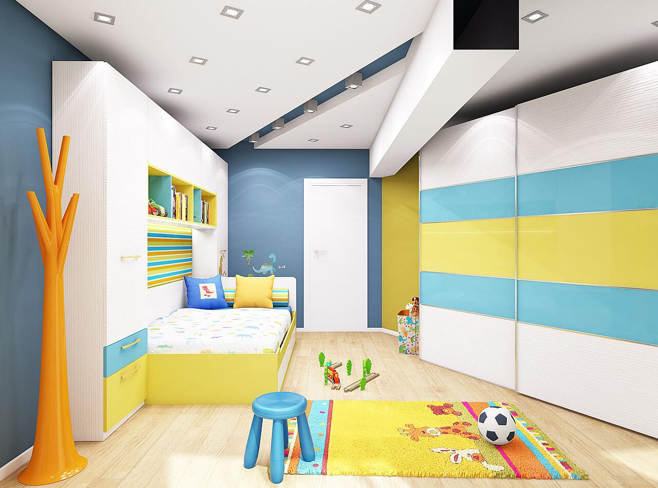 Интериорен-дизайн-на-детска-стая-3Д-визуализация-проект-интериорен-дизайнер-софия-inteioren-dizayn-na-detska-staq-unison-design