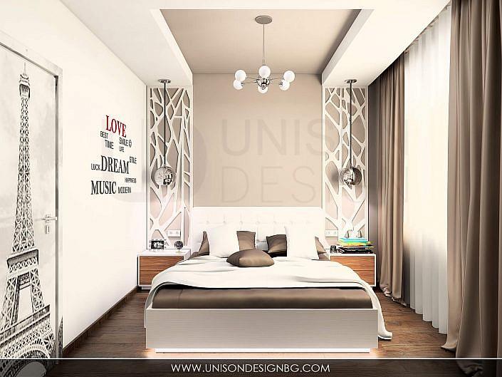 Спалня-гардероб-плъзгащи-врати-интериор-spalnq-obzavejdane-interioren-dizajn-unison-design