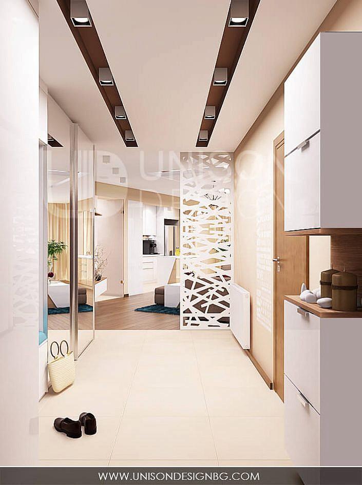 интериор-antre-koridor-apartament-vizualizacia-антре-коридор-декоративно-пано-unison-design-ралица-запрянова