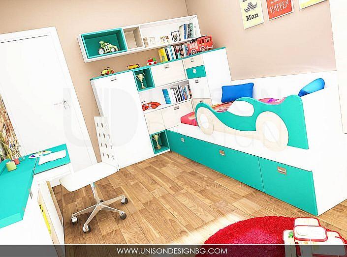 Детска-момчета-синьо-бяло-мебели-по-поръчка-обзавеждане-detska-staq-momcheta-interioren-proekt
