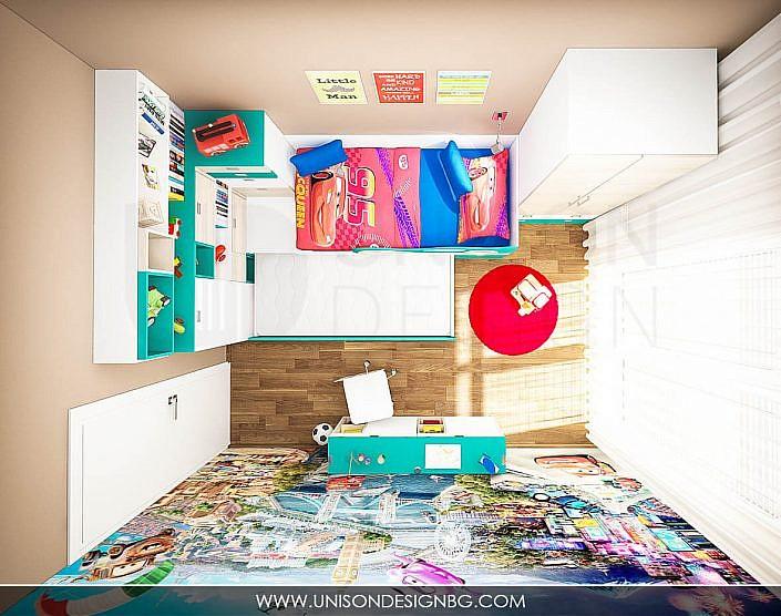 Интериорен-дизайн-проект-детска-стая-момчета-проект-разпределение-визуализация-obzavejdane-mebeli-staq-zamomche