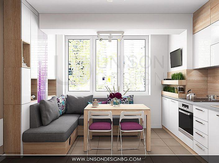 Кухня-бяла-дърво-лилава-интериорен-дизайнер-реализация-дизайн-обзавеждане-kuhnqa-bqla-kafqva-lilava-interioren-dizajn-unison-design-софия-3D-визуализация-5