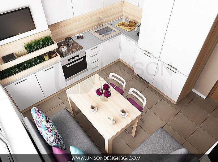 Кухня-бяла-дърво-лилава-интериорен-дизайнер-реализация-дизайн-обзавеждане-kuhnqa-bqla-kafqva-lilava-interioren-dizajn-unison-design-софия-3D-визуализация-7
