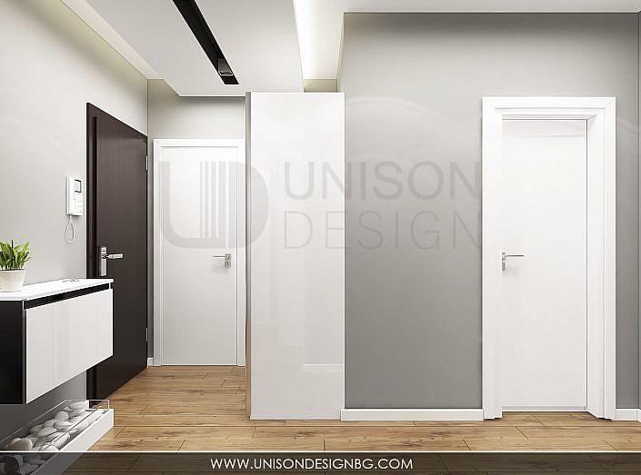 Интериорен-дизайн-проект-апартамент-антре-интериорен-дизайнер-Ралица-Запрянова-Unison-Design