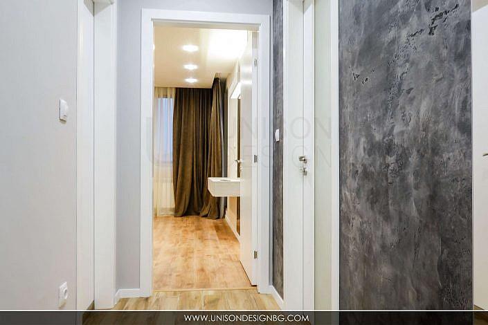 Антре-коридор-бяло-черно-сиво-декоративна-мазилка-интериорен-дизайн-реализация-antre-koridor-interioren-dizajn-unison-design_3