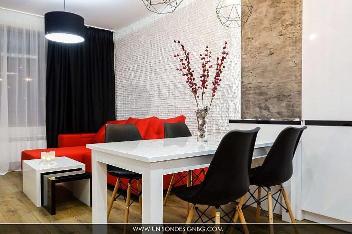 модерна-дневна-черно-бяло-червено-интериорен-дизайн-реализация-хол-трапезария-кухня-hol-dnevna-interioren-dizajn-unison-design_4
