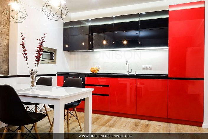 модерно-кухненско-обзавеждане-бяло-черно-червено-интериорен-дизайн-дневна-трапезария-реализация-хол-hol-dnevna-interioren-dizajn-unison-design_6