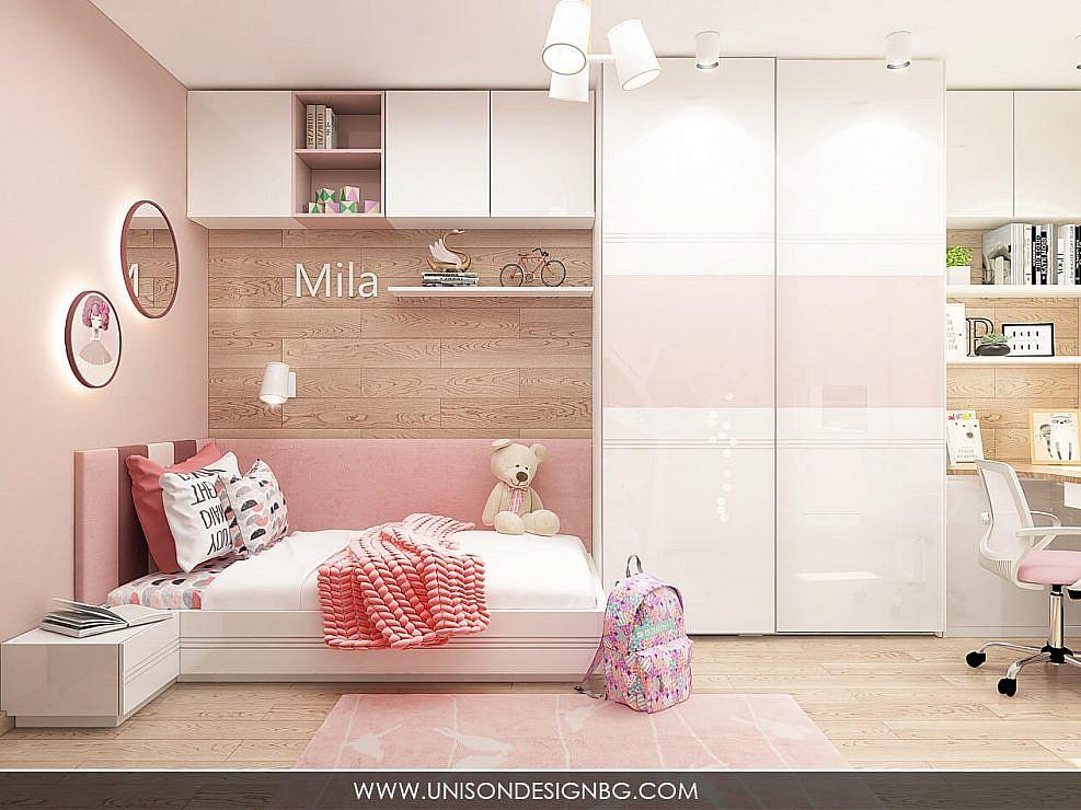 Интериорен дизайн на тристаен апартамент в кв. Мусагеница, гр. София